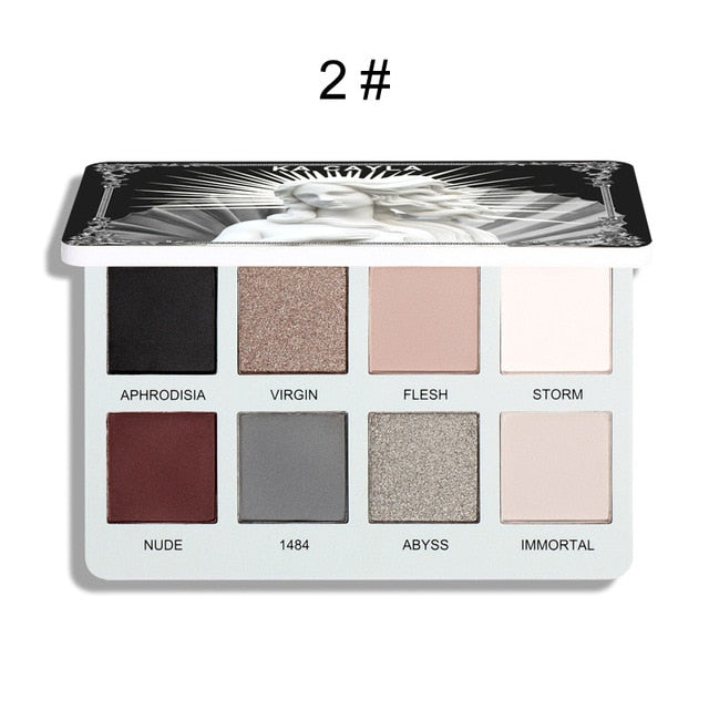 8 Colors Matte Eye Shadow Palette Makeup Eyeshadows Kit Shiny Pigment Waterproof Metallic Diamond Pigment Make Up Cosmetic TSLM6 - My Little Decors.com