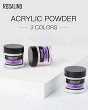 Load image into Gallery viewer, ROSALIND Acrylic Powder Poly nail Gel For Nail Polish Nail Art Decorations Crystal Manicure Set Kit Professional Nail Accessories - My Little Decors.com