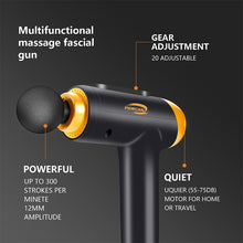 Load image into Gallery viewer, Massage Gun Fascial Gun Muscle Relaxation Massager Electric Massager Fitness Equipment Noise Reduction Design For Male Female - My Little Decors.com