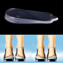 Load image into Gallery viewer, 1Pair Silicone Support Pad For High Heels Flat Feet Orthotics Orthopedic Insoles Corrector For Shoes Woman Feet Care Tools - My Little Decors.com