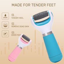 Load image into Gallery viewer, Electric File for Feet Charged Foot File for Heels Grinding Pedicure Tools Professional Foot Care Tool Callus Remover - My Little Decors.com