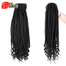 Load image into Gallery viewer, Silike Faux Locs Ponytail Synthetic Drawstring Pony Tail 18 Inch Clip Hat Hair Extensions For Women - My Little Decors.com