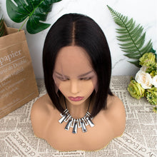 Load image into Gallery viewer, Bob Human Hair Wigs Short Human hair Wigs Lace Front Wigs For Women 13×5 Remy Hair Lace Front Human Hair Wigs Pre Plucked Hair - My Little Decors.com