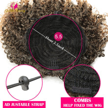 Load image into Gallery viewer, Afro Kinky Curly Ponytail Synthetic Drawstring Chignon Bun Hairpiece For Women Updo Clip in Hair Puff Extension Golden Beauty - My Little Decors.com