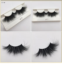 Load image into Gallery viewer, RED SIREN 10-50 pcs 25mm 3d mink lashes Wholesale Lot Bulk 100% Mink Eyelashes Cruelty Freely Natural long Eyelash Makeup Lashes - My Little Decors.com