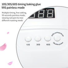 Load image into Gallery viewer, 120W LED Nail Lamp Nail Dryer Dual hands 42PCS LED UV Lamp For Curing UV Gel Nail Polish With Motion Sensing Manicure Salon Tool - My Little Decors.com