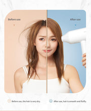 Load image into Gallery viewer, XIAOMI MIJIA Anion Hair Dryer Showsee A1-W Professinal Quick Dry Hair Dryer Mihome 1800W Hair Care Portable Hairdryer Diffuser - My Little Decors.com