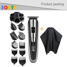 Load image into Gallery viewer, Kemei 11 in 1 Multifunction Hair Clipper professional hair trimmer electric Beard Trimmer hair cutting machine trimer cutter 5 - My Little Decors.com