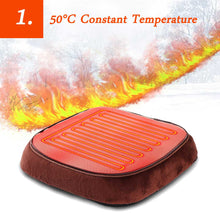 Load image into Gallery viewer, Electric Heated Foot care shoe Warmer Massager insoles tool pad Cosy Unisex Velvet Feet Big Slipper Foot Heat Warm Massage Shoes - My Little Decors.com