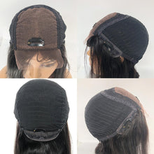 Load image into Gallery viewer, Loose Curly Lace CLosure Human Hair Wigs 4x4 Human Hair Wigs Brazilian Glueless Bleached Knots Pre plucked For Black Women - My Little Decors.com