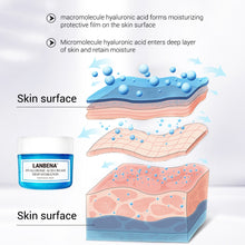 Load image into Gallery viewer, LANBENA Hyaluronic Acid Moisturizing Face Cream Snail Whitening Nourishing Shrink pores Anti-aging Firm Brighten Facial Cream - My Little Decors.com