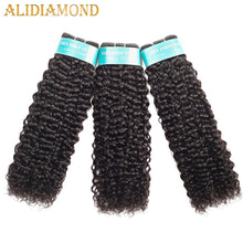 Load image into Gallery viewer, Brazilian Kinky Curly Hair 1/3/4 Bundles Deep Curly Hair Weaves 8-26 Inch Natural Human Hair Thick Bundles Remy Hair - My Little Decors.com
