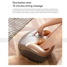 Load image into Gallery viewer, Electric Foot Massager Rollers Shiatsu Heat Foot Device Health Care Antistress Vibration Massage Air Pressure Machine - My Little Decors.com