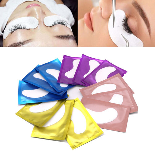 100/200/300 Pairs Wholesale Eyelash Patches Grafting Eyelashes Under Pads Lash For Eyelash Extension Makeup Tools Paper Sticker - My Little Decors.com