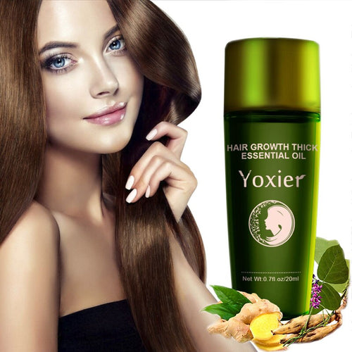 Yoxier Hair Growth Essence Oil Effective Extract Anti Nourish Hair Roots Treatment Preventing Hair Loss Products 20ml - My Little Decors.com