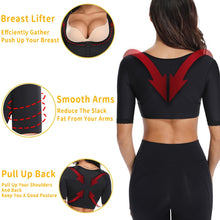 Load image into Gallery viewer, Miss Moly Seamless Arm Shaper Chest Lifter Corrective Underwear Invisible Slimming Shapewear Body Slimmer Modeling Tops Corset - My Little Decors.com