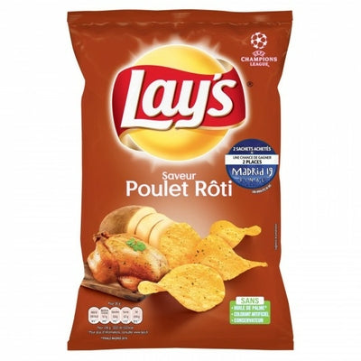 Lays Chips Roasted Chicken 130g - 4.5oz