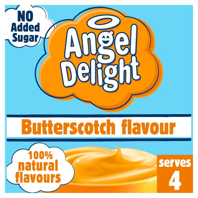 Angel Delight No Added Sugar Butterscotch Flavour 47g - 1.6oz
