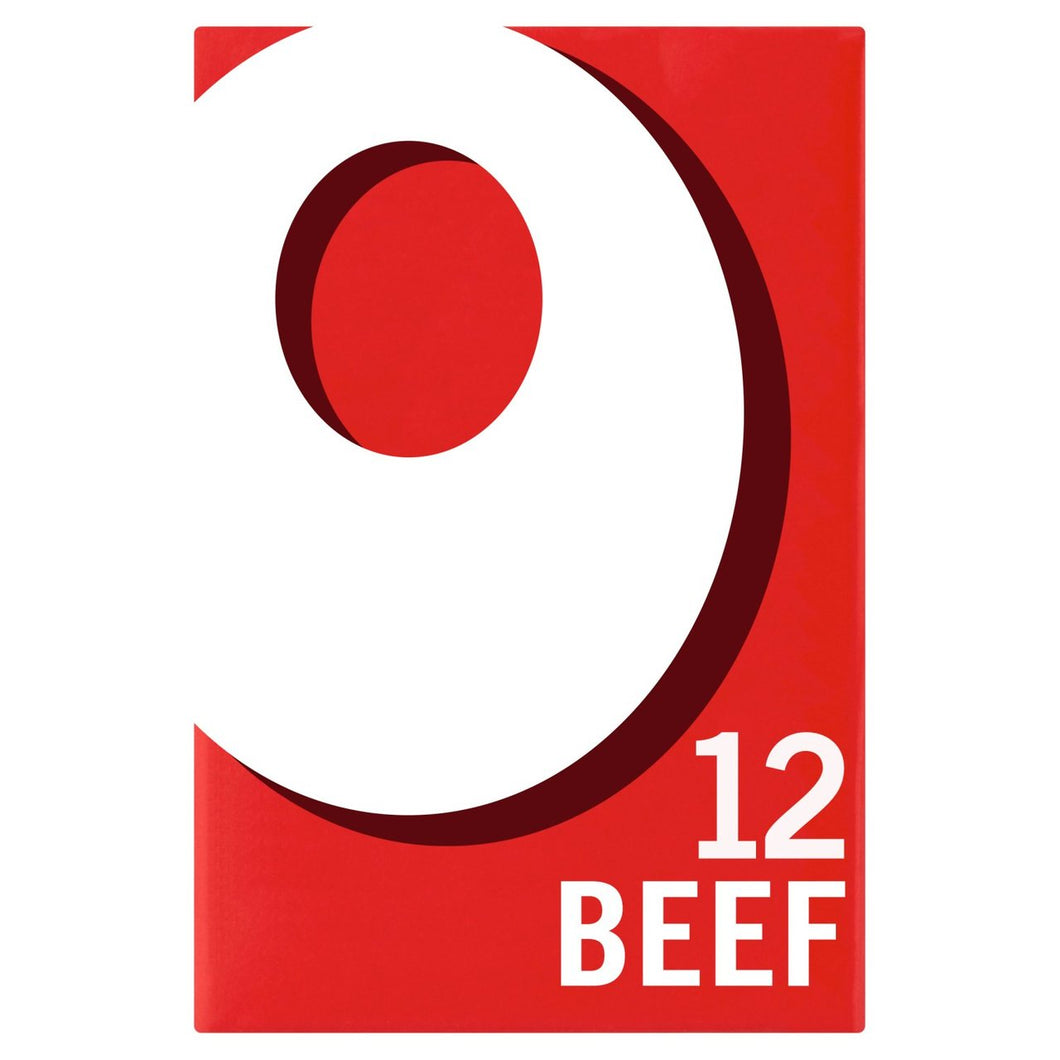 Oxo 12 Beef Stock Cubes 71g - 2.5oz