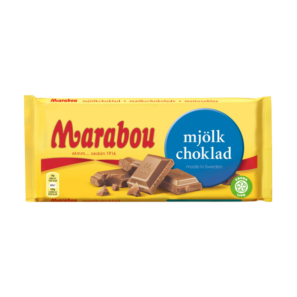 Marabou Milk Chocolate Bar 200g - 7oz