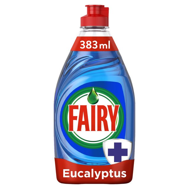 Fairy Anti Bacterial Eucalyptus Washing Up Liquid 383ml - 12.9fl oz