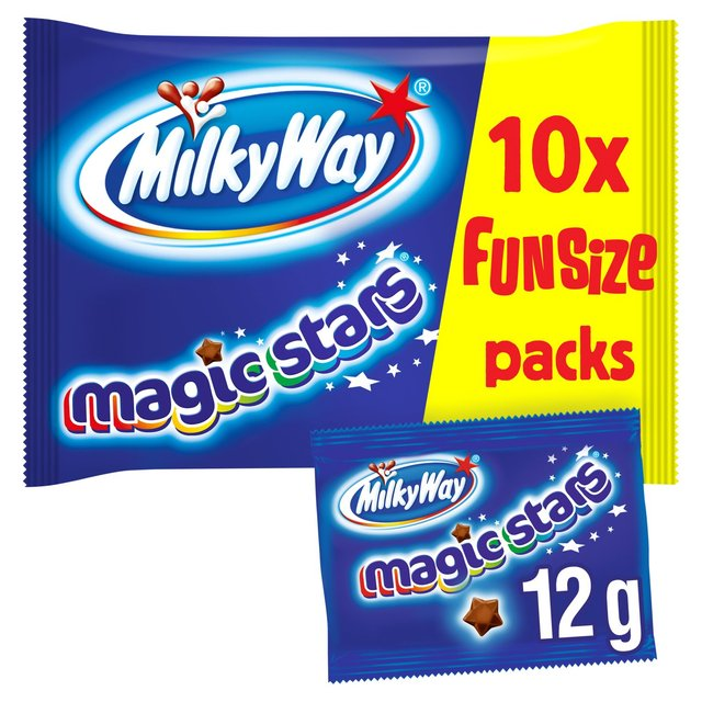 Milky Way Magic Stars Chocolate Fun Size 10 Bags