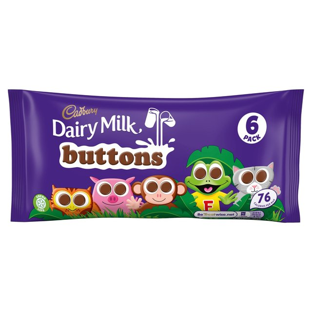 Cadbury Buttons Treat Size 6 Pack