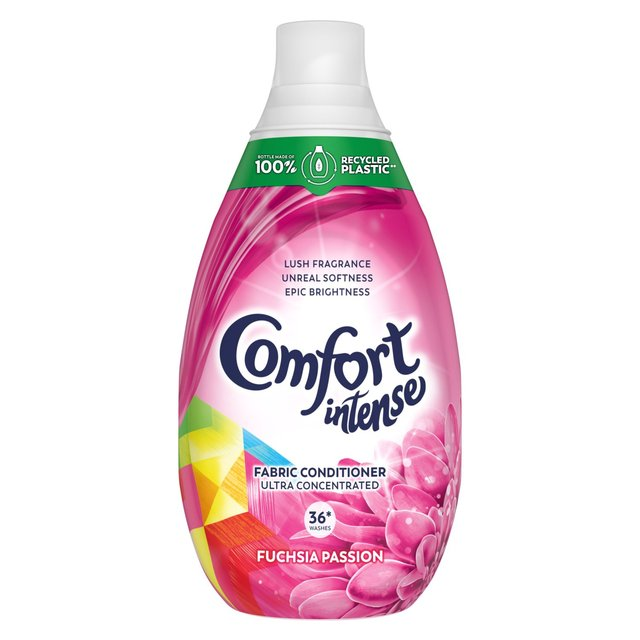 Comfort Intense 36 Wash Passion Concentrated Fabric Conditioner 540ml - 18.2fl oz