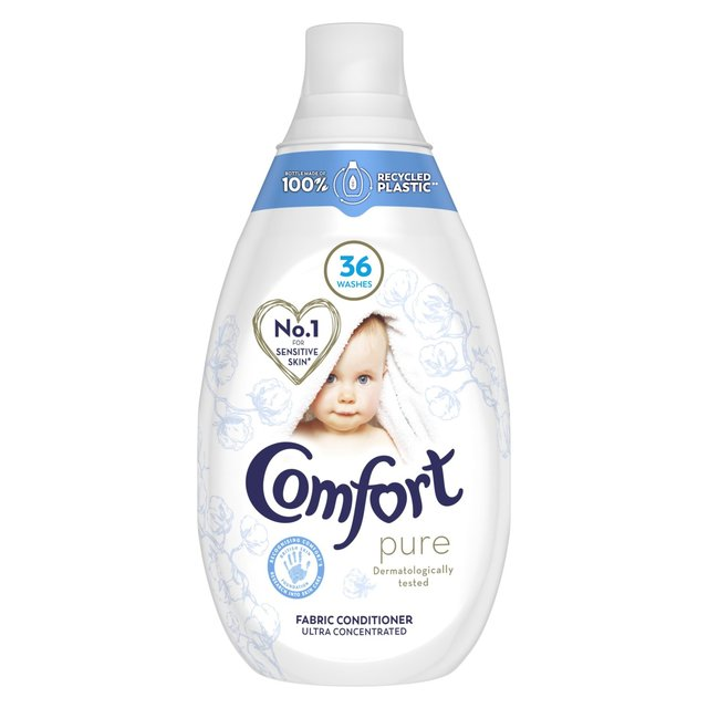 Comfort Pure 36 Wash Sensitive Skin Concentrated Fabric Conditioner 540ml - 18.2fl oz