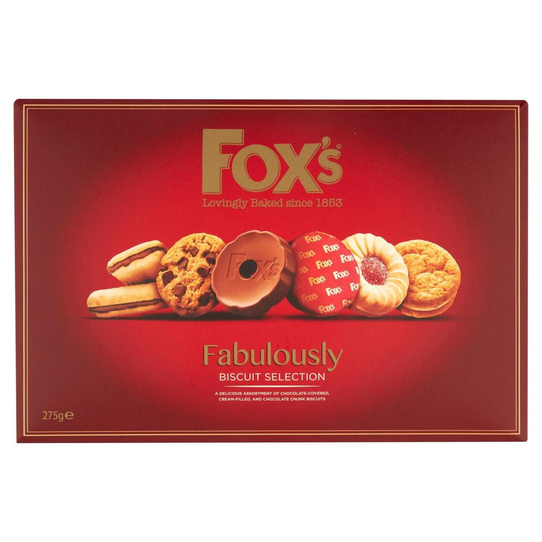 Fox's Fabulously Biscuit Selection 275g - 9.7oz