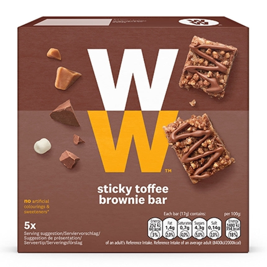 Weight Watchers Sticky Toffee Bar Sticky Toffee Bars  6x19g