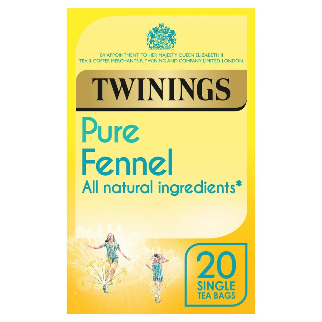 Twinings Pure Fennel Tea 20 Bags