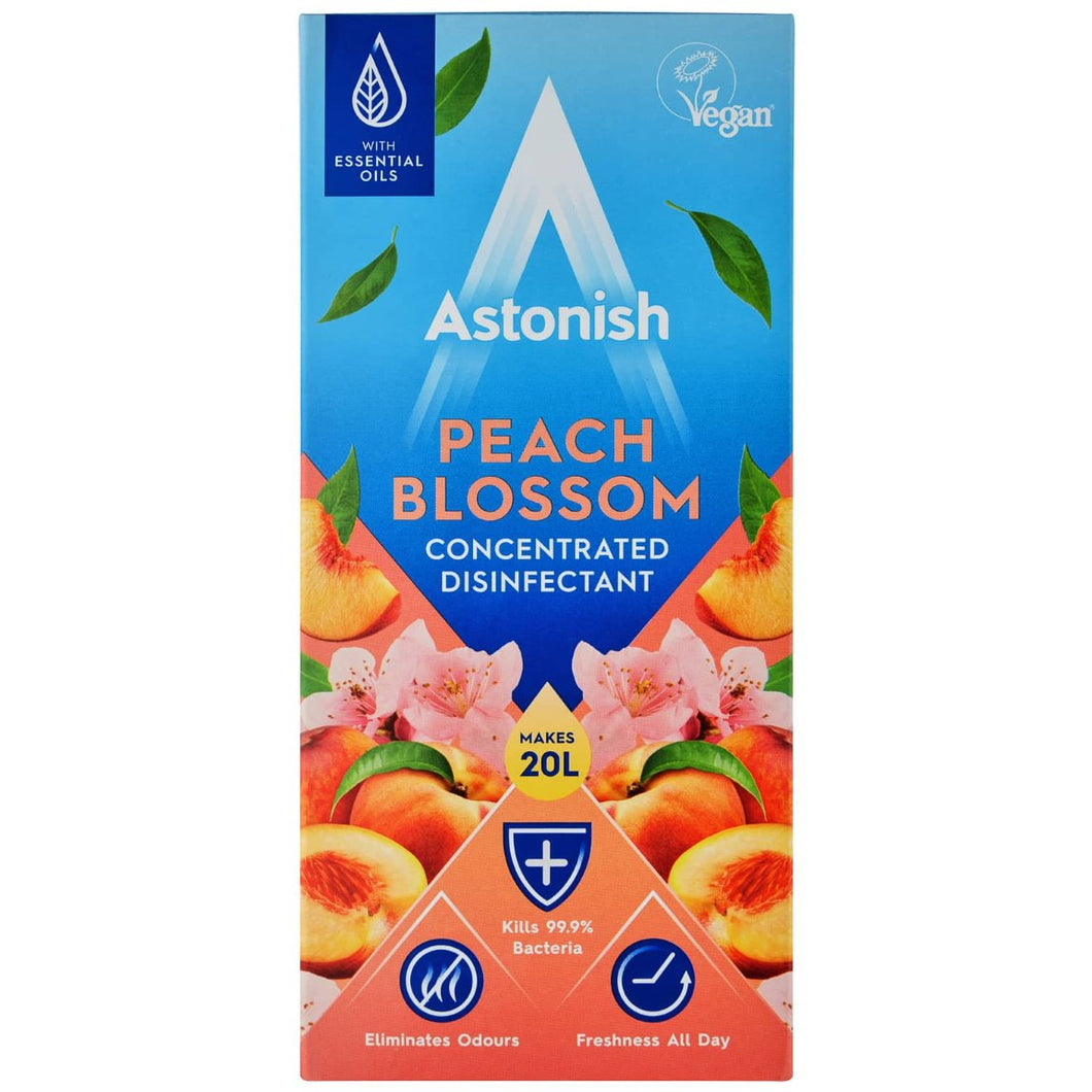 Astonish Peach Blossom Concentrated Disinfectant 500ml - 16.9fl oz