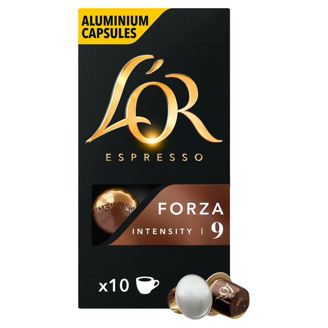L'OR Espresso Forza Intensity 9 Coffee Capsules 10 Pack