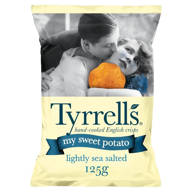Tyrrells My Sweet Potato Lightly Salted 125g - 4.4oz