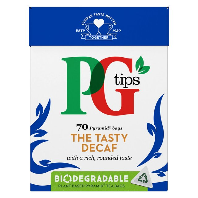 PG Tips The Tasty Decaf Tea Bags 70 Pack