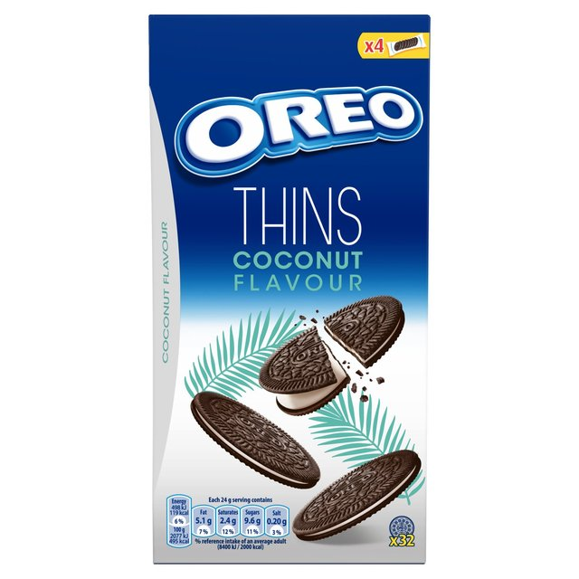 Oreo Thins Coconut Sandwich Biscuit 192g - 6.7oz