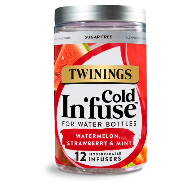 Twinings Watermelon, Strawberry & Mint Cold Infuse 12 Bags