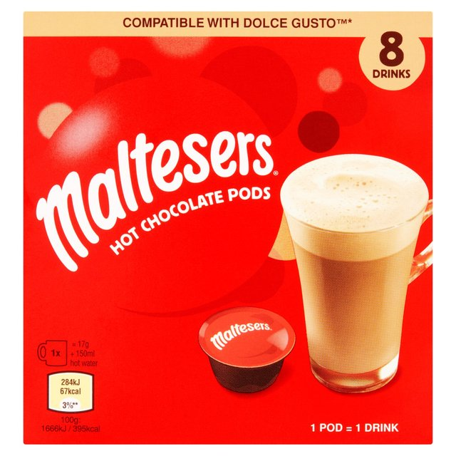 Maltesers Dolce Gusto Compatible Pods 8 Pack