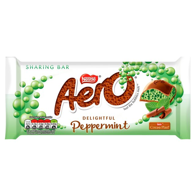 Aero Peppermint Chocolate Sharing Bar 90g - 3.1oz