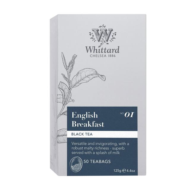 Whittard English Breakfast 50 Tea Bags