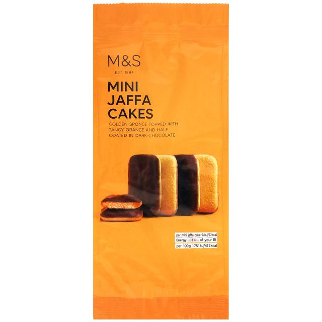 M&S Mini Jaffa Cakes 100g - 3.5oz