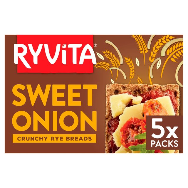 Ryvita Sweet Onion Crisp Bread 200g - 8.8oz
