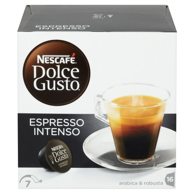 Dolce Gusto Espresso Intenso Pods 16 Pack