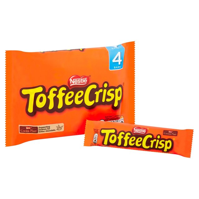 Toffee Crisp 4 Pack