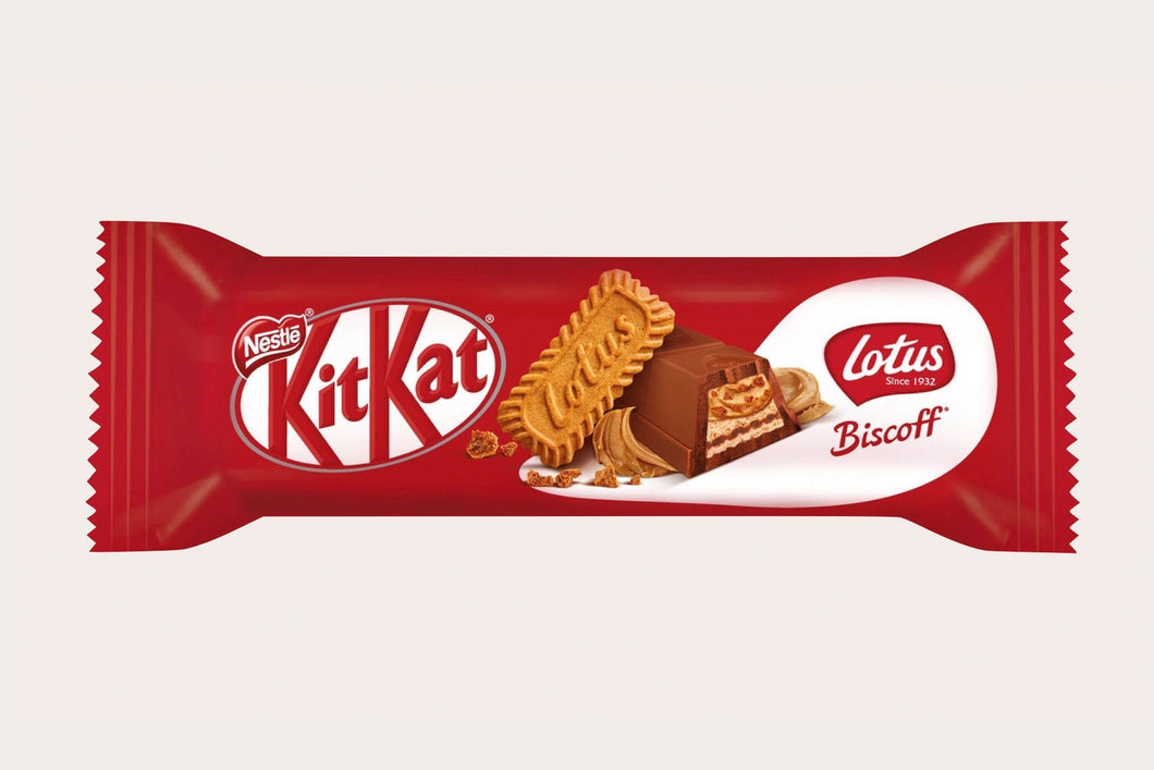 Kit Kat Lotus Biscoff Single 17g - 0.5oz