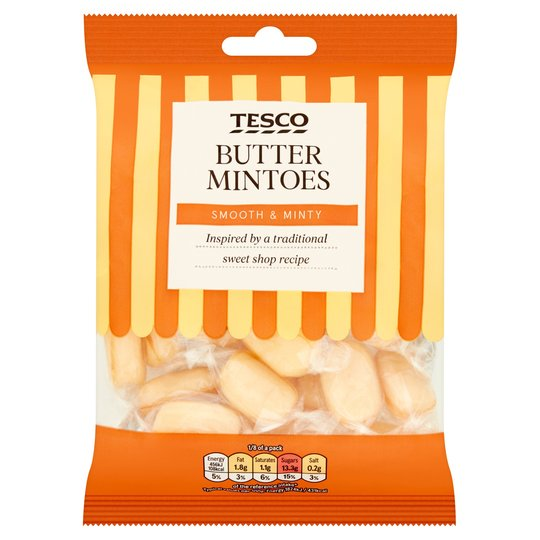 Tesco Butter Mintoes 200g - 7oz