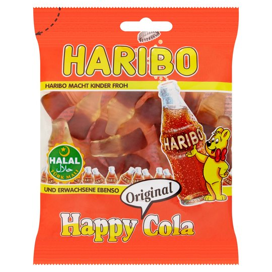 Haribo Halal Happy Cola Original 100g - 3.5oz