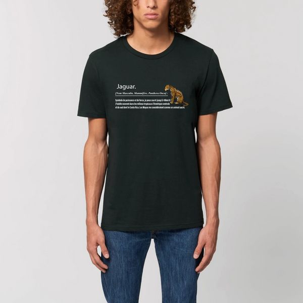 T-shirt Unisexe Jaguar - Animale sauvage du Costa Rica