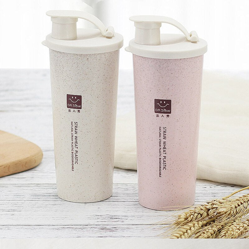 Wheat Straw Water Cup New Listing Daren Show Wheat Incense Cup With Mouth Cup Outdoor Travel Cup Environmental Protection Energy